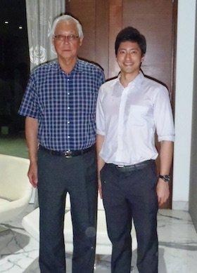 ESM Goh Chok Tong and Daniel Wong