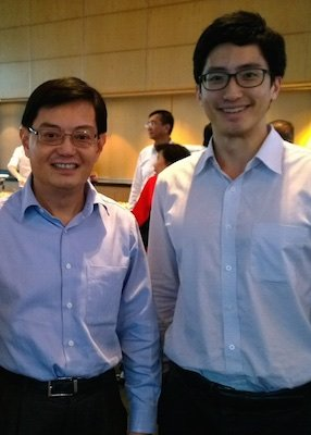 Heng Swee Keat and Daniel Wong