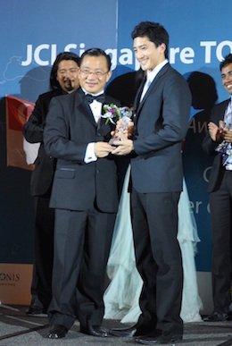 TOYP Award - Daniel Wong
